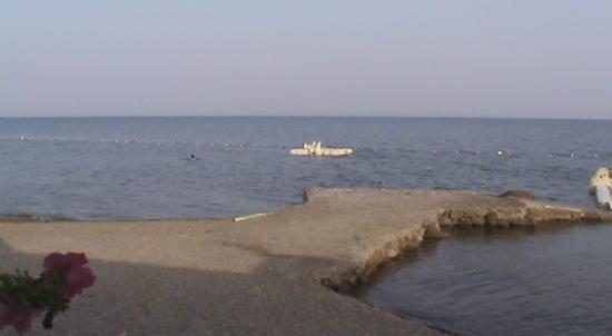 Kanara Hotel: Private beach
