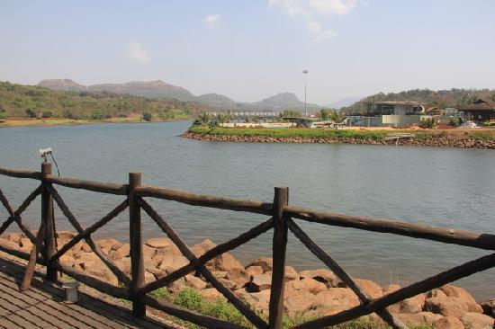 Aamby Valley City: View of the Sail Bridge