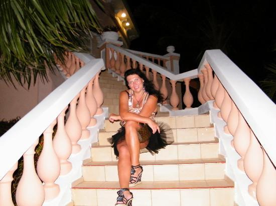 Paradisus Princesa del Mar Resort & Spa: Stairs to the Royal Service