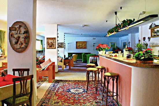 Hotel Nordik: Il piacevole ed attrezzato salone