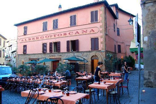 Acquapendente, Italien: il ristorante