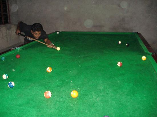 GL's Kaziranga Resort: pool table