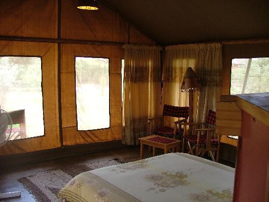 Sentrim Amboseli: tenda