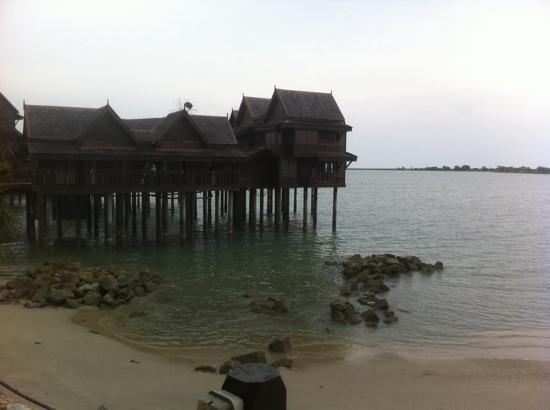 Langkawi Lagoon Resort: from the small beach