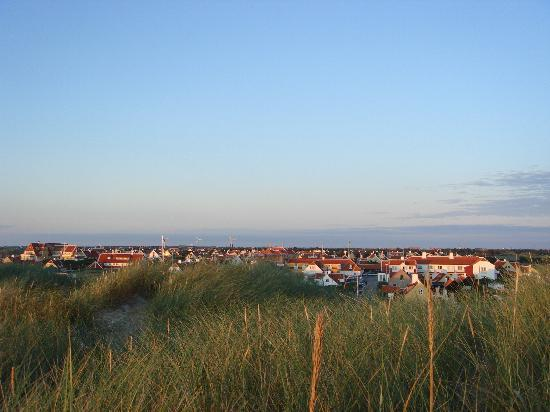 Ruths Hotel: View over the old Skagen