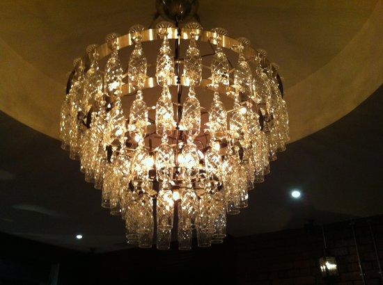 Champagne glass chandelier | Wine glass chandelier, Flute