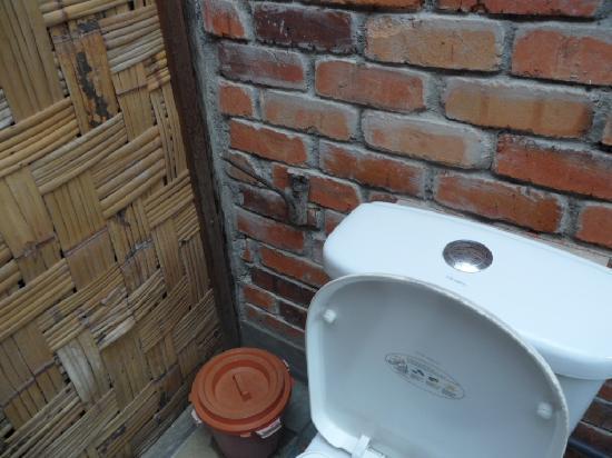 ปากันนากัน ดี ทรอปิคัล รีทรีท: love the toilet-roll holder!