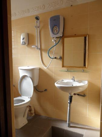 Borneo Gaya Lodge: private bathroom but the shower leaked