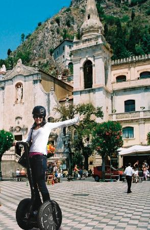 CSTRents - Taormina Segway PT Authorized Tour