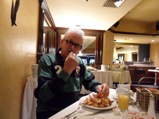 BEST WESTERN Ville-Marie Hotel: Le petit déjeuner Américain...