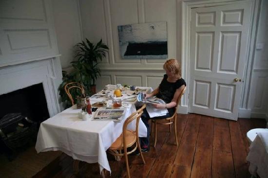 38 St Giles Boutique Bed & Breakfast: Breakfast room