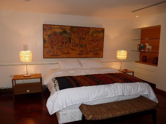 TheRiverSideBangkok Elegant Apartments: Master Bedroom