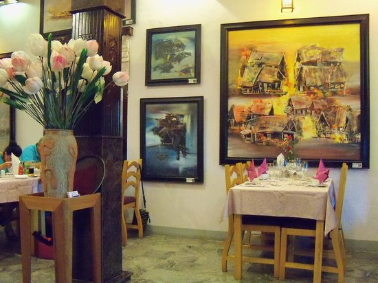 Confetti restaurant & art gallery: The nice atmosphere