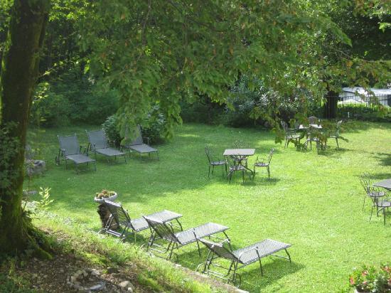 Hotel Antico Crotto: le jardin