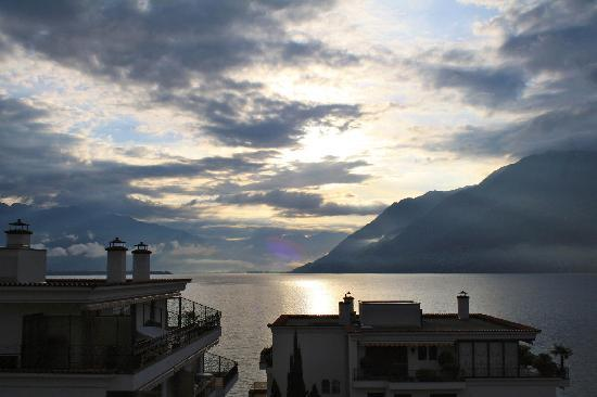 Sunstar Boutique Hotel Villa Caesar: Balcony view from lakeside suite