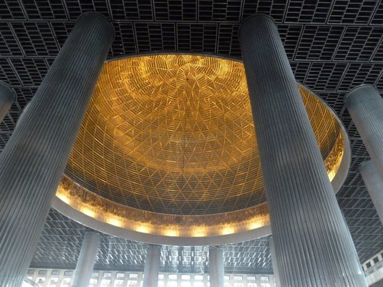 This photo of Istiqlal Mosque is courtesy of TripAdvisor