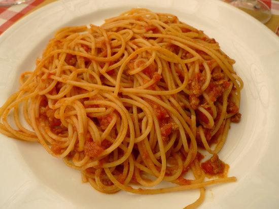 Ristorante Osteria N.1: gli spaghetti sono abbondanti