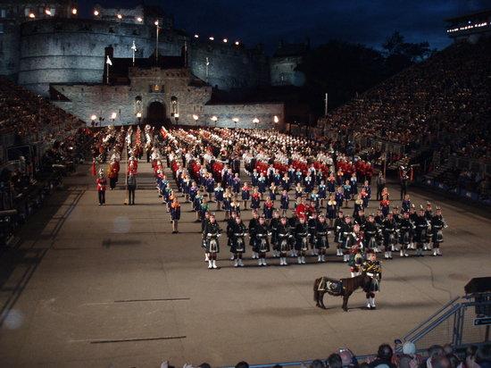 The Royal Edinburgh Military Tattoo: Towards the end