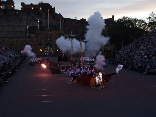 The Royal Edinburgh Military Tattoo: Part of the show