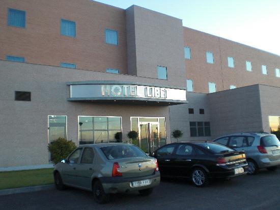 Hotel Libet : la puerta del hotel