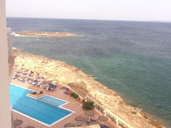 THB Sur Mallorca: View from our Sixth floor balcony