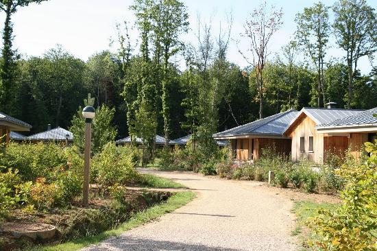 Location of cottages Photo de Center Parcs Les Bois Francs, Verneuil sur Avre TripAdvisor # Les Bois Francs Avis