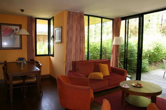 Center Parcs Les Bois-Francs: Living area
