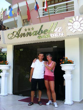 Annabella Park Hotel: Спасибо всему персоналу отеля они стараются для нас,молодцы ребята !