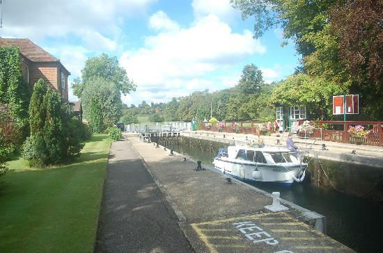 The Baskerville: Shiplake Lock (20 minute walk)