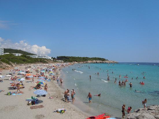 Veraclub Minorca: spiaggia hotel