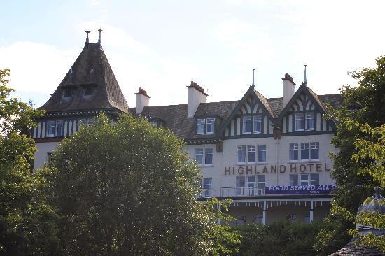 Strathpeffer, UK: Hotel