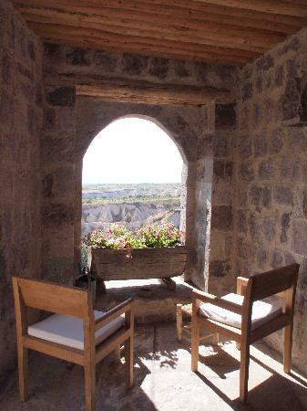 Argos in Cappadocia: We discovered this while exploring the property