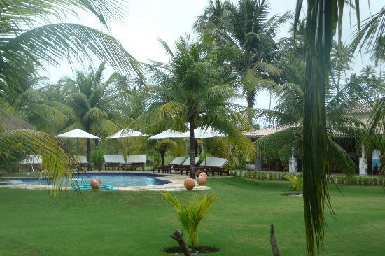 Casa Acayu: Blick vom Zimmer in den Garten