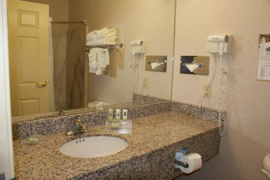 Country Inn & Suites By Carlson, Oklahoma City at Northwest Expressway: bathroom