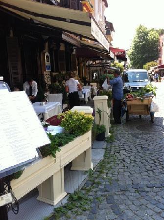 เบสท์เวสเทิร์นพรีเมียร์อะโครพอลสวีสแอ่นด์สปา: a good mix of traditional Turkish life and lizard at the same time, a little haven :-)