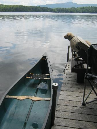 Adirondack, NY: lots of canoeing :))