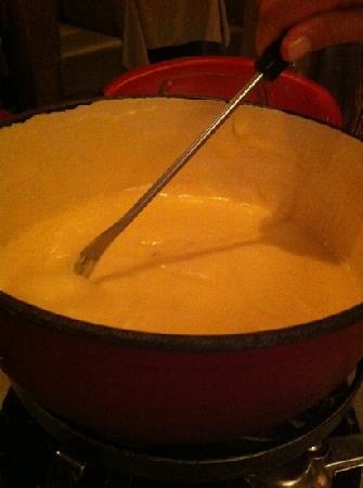 Le Pain Beni : fondue
