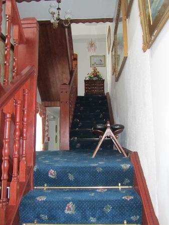 Captain's House: hallway