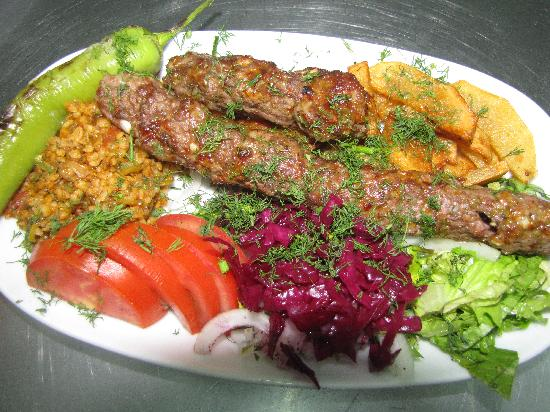 Adana kebab p lamb p beef picture of mehmet and ali for Ali baba s middle eastern cuisine