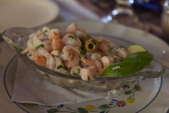Restaurant El Grito Parrilla Mexicana: Cebiche with tomato