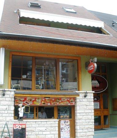 Egidius Brewery : Outside of the restaurant