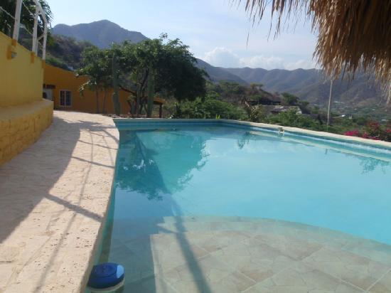 Casa Los Cerros: La piscine