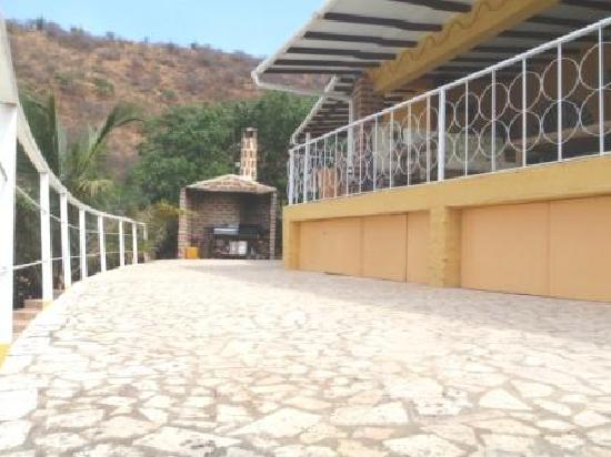 Casa Los Cerros: bbq