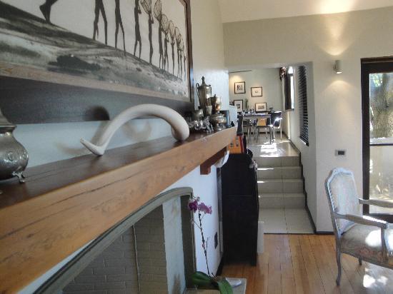 Teremok Marine: view into the breakfast room