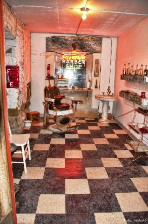 fountain -barber shop - Picture of Beneath the Streets, Havre ...