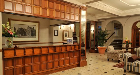 Imperial Hotel: Reception