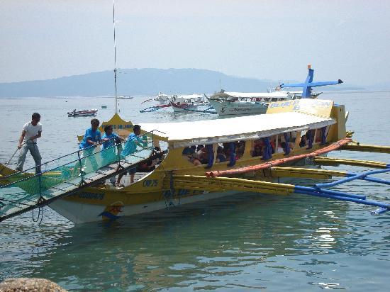 Sunsplash Resort : Ferry to Sabang