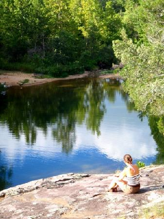 Foto de Rocky Falls Shut-in