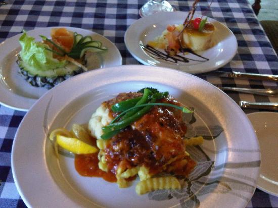 The Qamar Paka, Terengganu: ala carte lunch