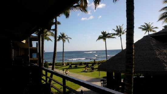 Koa Kea Hotel & Resort: Beautiful view of the ocean.Just a short walk to the beach.